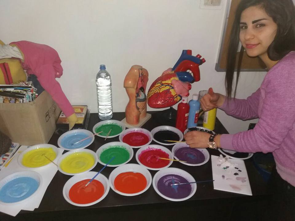 Child Friendly Spaces: Damascus 1