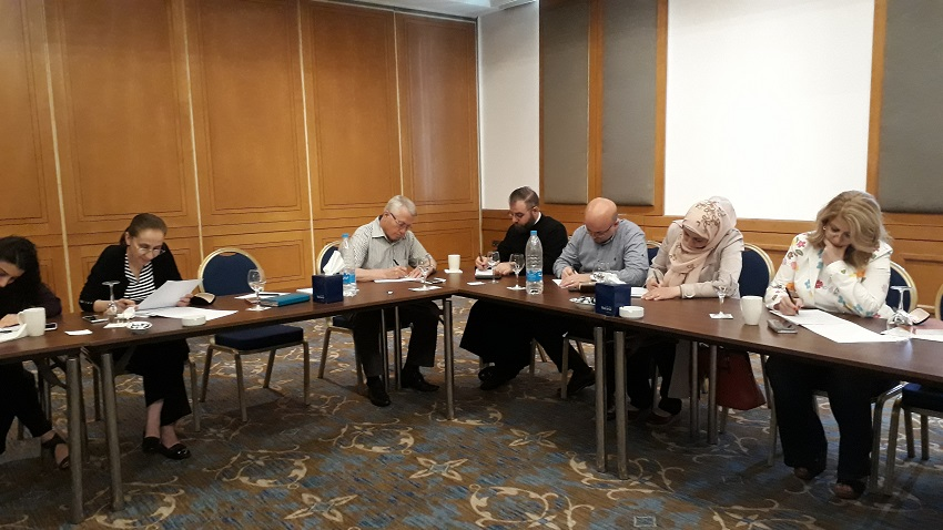 Peace Building in Syria: the workshop